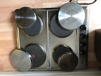 Electric Solid Plate Hob (Working Condition)