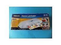 Fellowes- Home Laminator Mars A4 *UNOPENED/UNUSED* (ORIGINAL)