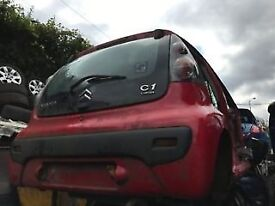 CITROEN C1 2009 1.1 PETROL RED 5DR BREAKING FOR SPARES