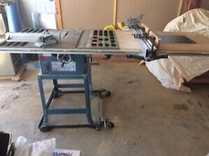 "Toolex 10"" table saw"