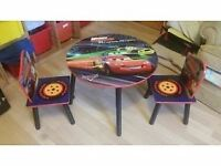 Wooden macqueen table with chairs no time wasters please