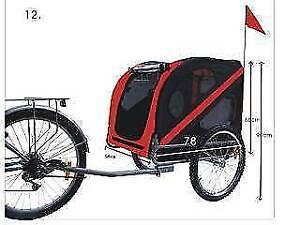 Brand New Foldable DOG /PET Bicycle Bike Trailer