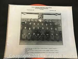 Vintage Canadian Military photo, Camp Borden, 1961