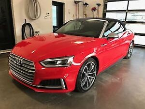 AUDI S5 2018 CONVERTIBLE COMME NEUF