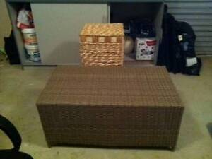 Rattan Coffee Table Brand New Greenwith Tea Tree Gully Area Preview