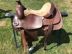 WESTERN SADDLE  Billy Cook 'Longhorn Saddle'
