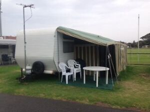 Vintage  1976 Chesney 25ft 6 berth caravan Serpentine Loddon Area Preview