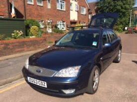 Ford Mondeo Zetec-Blue-Automatic-Petrol-85,000miles-BARGAIN BUY!!