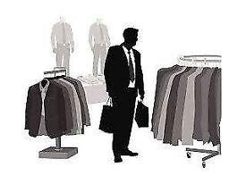 Menswear Donations Urgently Wanted