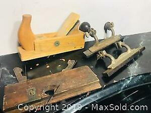 Antique Planes and Tools