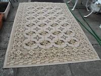 LARGE THICK BEIGE RUG