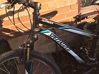 """24"""" wheeled Specialised Hotrock bike. 21 speed. In very good condition"""