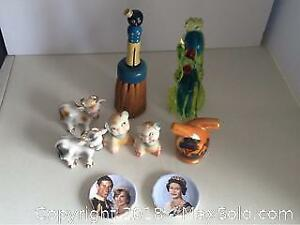 Vintage Salt And Pepper Shakers Murano Glass and More