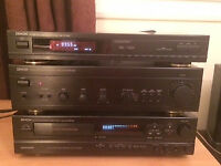 Denon Amp/Tape Deck/FM Tuner & Tannoy Speakers - £250 ono