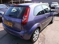 genuine ford fiesta 2002-2009 ford fiesta 1.4 zetec breaking purple engine gearbox dash interior