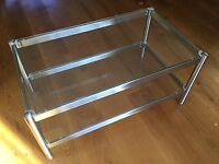 Glass M and S TV Unit/Stand.
