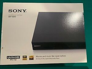 Sony 4K UHD Wi-Fi Blu-ray Player UBP-X800