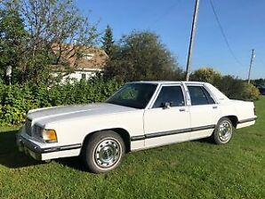 IMMACULATE 1989 Mercury Grand Marquis Car