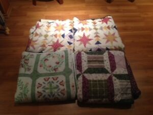 4 double side quilted BEd Spreads