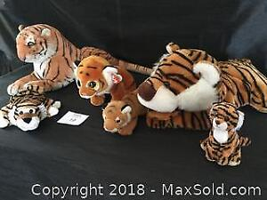 Lot Of Tigers, Ty, Hand Puppet