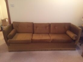 Two Classic Sofas - One 3 Seater and One 2 Seater