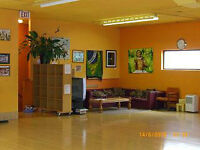 LARGE SPACE FOR PARTIES, EVENTS, ETC. Available on hourly basis