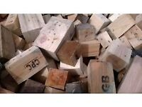 Bulk Bag Firewood Blocks