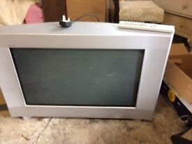 """Sony Television set with 26"""" screen."""