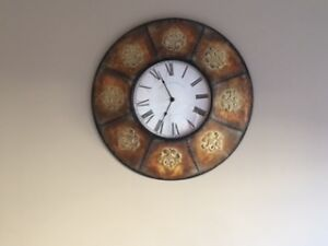 Moving Soon!  Decorative Clock from Homesense!
