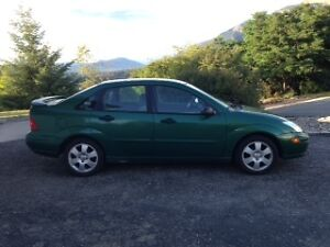 2002 Ford Focus Sedan