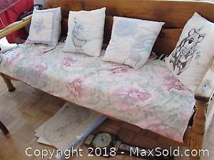 Antique Pine Day Bed B