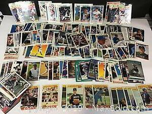 approx. 250 Baseball cards in high grades
