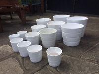 Ceramic Pots from Ikea