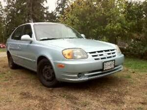 Cheap and Reliable: 2005 Hyundai Accent Hatchback