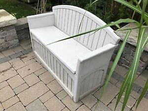 Suncast storage bench