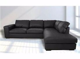 Brand New Modern Westpoint sofa range available in Black,Brown,Cream or Red