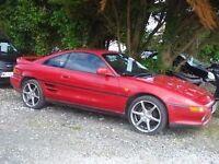 Toyota MR2 GT 1991-J-reg, 2000cc, 95,000 miles, new MOT on purchase