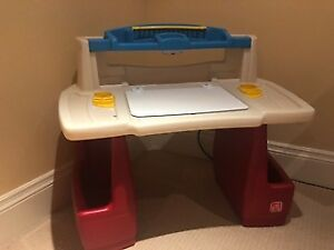 The Step2 Deluxe ART DESK with Chair
