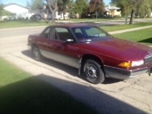 1988 BUICK REGAL ONLY 120KM!! SAFTIED IN ALMOST MINT CONDITION!