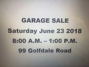 Garage /Contents Sale