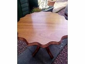 Lovely hand crafted table for sale
