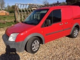 Red Ford Transit Van For Sale £750