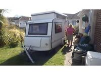 rapido two berth caravan