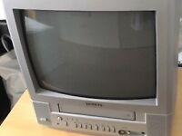 Toshiba TV with video tape player