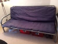 Sofa bed- 78 inch wide sofa which pulls out into a double bed