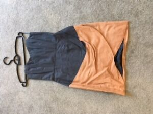strapless prom/grad dress size small