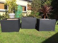 GALVANISED STEEL PLANTER BOXES