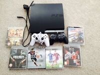 PS3 including 6 games