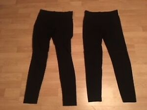 3 leggings /pantalon cuir