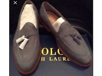 Polo Ralph Lauren Tankersley loafers Grey Suede